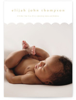 Sweet Simplicity Birth Announcement Postcards