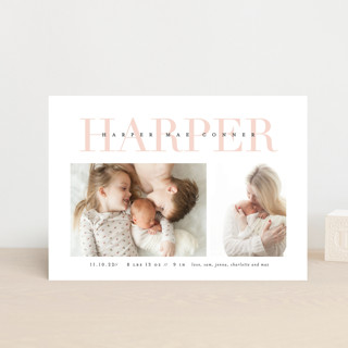 Love-ly Birth Announcement Postcards