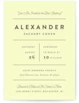collected Bris and Baby Naming Invitations
