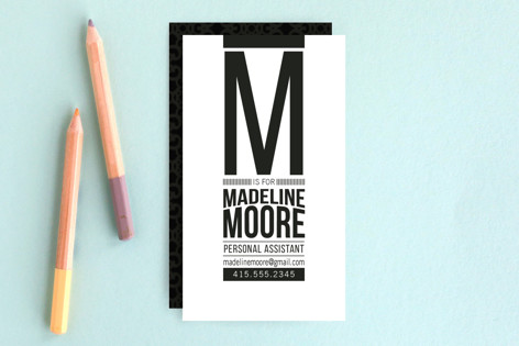 Monolith Business Cards