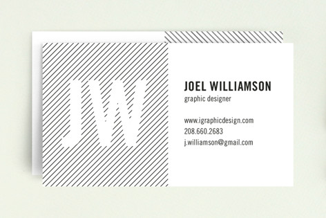 Type Strype Business Cards