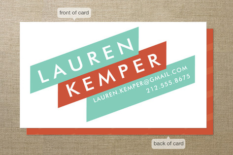 Broad Strokes Business Cards