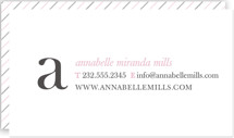 Simple and Pretty Business Cards
