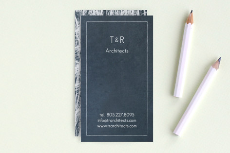 Chalkboard Business Cards