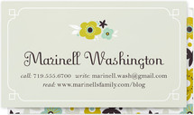 Ladylike Business Cards