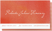 Color Wash Business Cards
