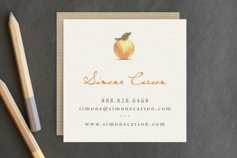 Apple Harvest Business Cards