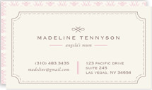 Mina Beleza Business Cards