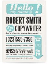 Hello, I&#039;m A Business Cards