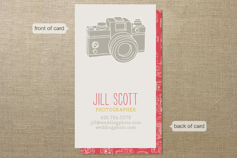 Camera Card Business Cards