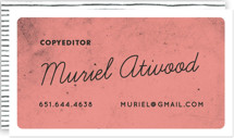 Pencil Pusher Business Cards