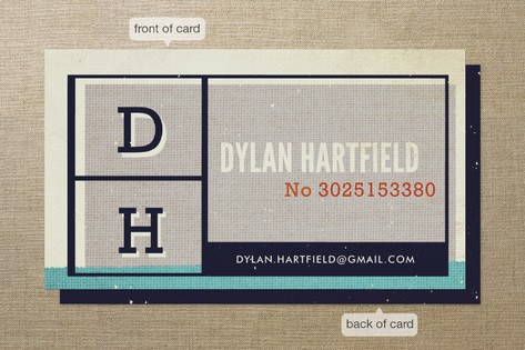Blocks Business Cards