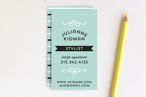 Fashion Forward Business Cards
