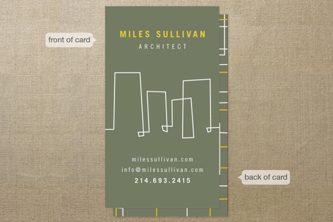 Architectural Lines Business Cards