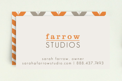 A Bold Impression Business Cards
