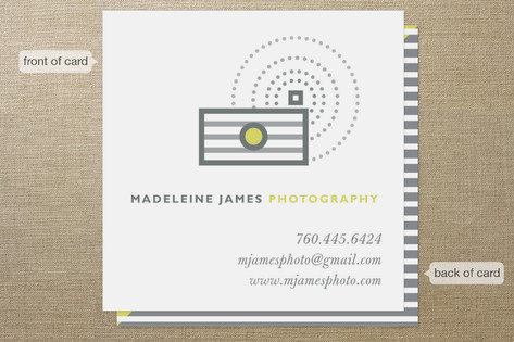 In A Flash Business Cards