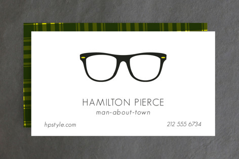 Man About Town Business Cards
