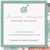 Pretty Skein Business Cards