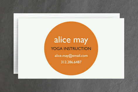 Breathe Business Cards