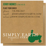 Buy Organic Business Cards