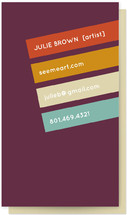 Crooked Colors Business Cards