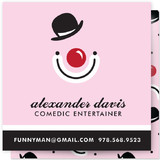 Funny Man Business Cards