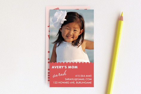Playroom Business Cards