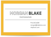 Simple Houndstooth Business Cards