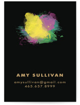 Splash of Color Business Cards