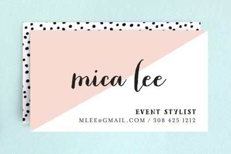 Half Business Cards