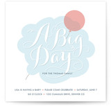 Cloudy with a Chance of Fun Baby Shower Invitations