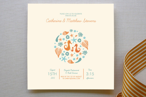 Indie Baby Shower Invitations Paper Invitation Cards