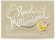 Road Trip Baby Shower Invitations