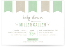 Festoon Baby Shower Invitations