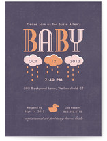 Graphique Baby Shower Invitations