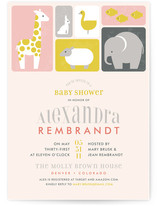 Born Free Baby Shower Invitations