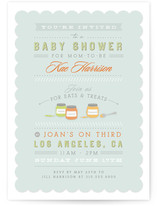 Eats &amp; Treats Baby Shower Invitations