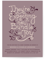 Expecting a New Baby Shower Invitations