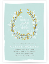 Petit Bebe Baby Shower Invitations