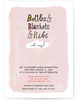 Oh My! Baby Shower Invitations