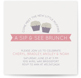 Muffins Baby Shower Invitations