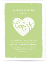 Sealed with Love Baby Shower Invitations