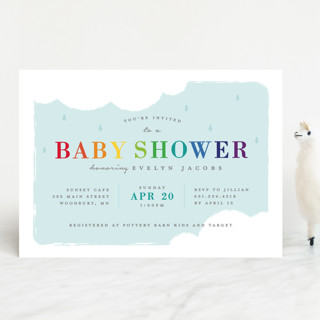 Hand Picked Baby Shower Invitations