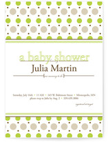 Just Dotty Baby Shower Invitations