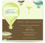 Hooray! Baby Shower Invitations