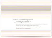 Marrakesh Baby Shower Invitations