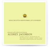 Little Muffin Baby Shower Invitations