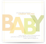 Citrus Celebration Baby Shower Invitations