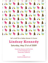 Baby Rock Baby Shower Invitations