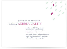 Love is in the Air Baby Shower Invitations